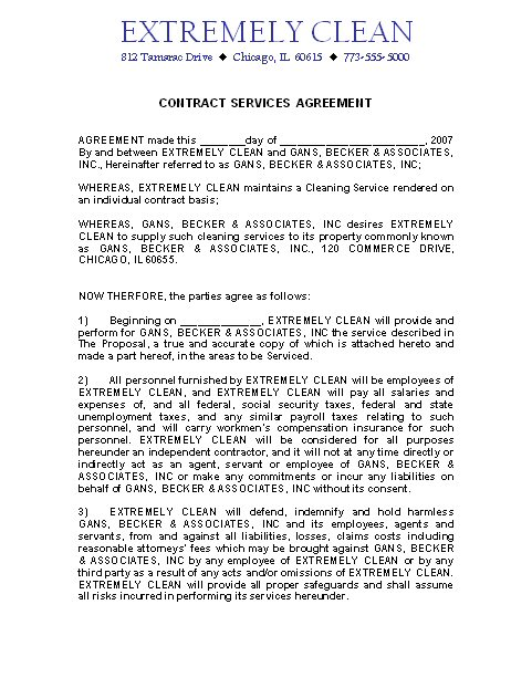 Proposal contract